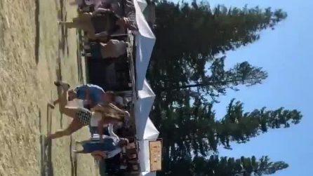 California, spari sulla folla a un festival: morti e feriti