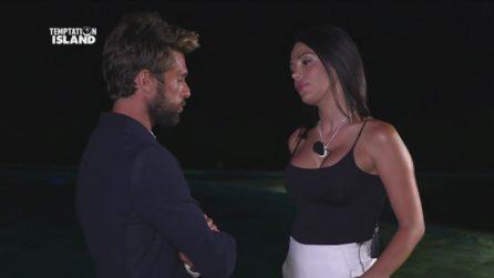 Nicola chiede di vedere la single Maddalena dopo il falò con Sabrina