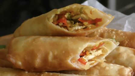 How to make easy spring rolls at home
