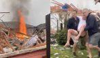 Violenta esplosione di gas: le condizioni dell'abitazione sono sconcertanti