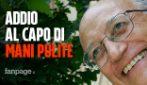 Addio al capo del pool di Mani Pulite Francesco Saverio Borrelli