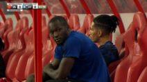 Lukaku, contro l'Inter va in panchina e il suo sguardo è tutto un programma
