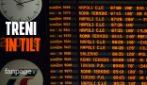 """Circolazione ferroviaria bloccata, caos a Milano: """"240 minuti di ritardo aspetto che il treno parta"""""""