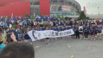 Juventus-Inter, scontri tra tifosi cinesi prima dell'amichevole