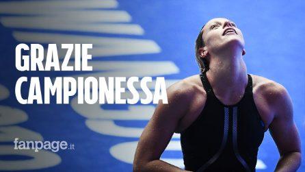Mondiali, Federica Pellegrini vince la sua 4^ medaglia d'oro: una leggenda italiana che non tramonta