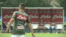 Calciomercato, le prime immagini di Elmas in allenamento con il Napoli