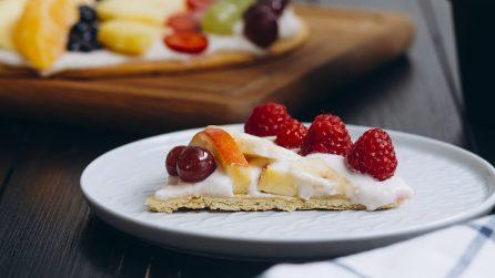Crostata di frutta fresca: ecco come farla in versione gigante con pochi ingredienti!
