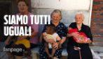 """Le nonne di Campoli e i bimbi migranti: """"Siamo tutti uguali, anche i nostri nonni emigrarono"""""""