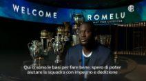 """Romelu Lukaku, prime parole da interista: """"Conte il migliore"""""""