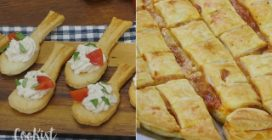 Puff pastry ideas for a tasty appetizer or savory treat!