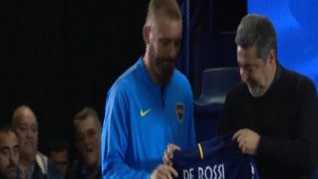 """Boca Juniors, De Rossi si presenta: """"Darò quello che avrei dato alla Roma"""""""