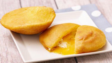 Arepas recheadas com ovo: receita fácil e gostosa para fazer em casa!