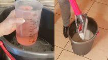 Come pulire i pavimenti con un detersivo fai da te