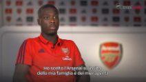 "Pépé: ""Arsenal scelta giusta per la mia carriera"""