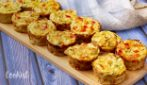 Zucchini minicakes: you can make it in a muffin pan in a few minutes!