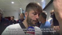 """Calciomercato, Schone è arrivato a Genova: """"Felice di essere qui"""""""