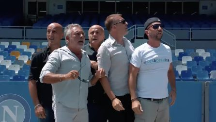 """""""Al San Paolo sei a casa tua"""": lo spot per lo stadio di Napoli"""