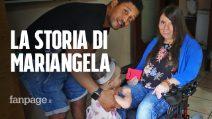 """Mariangela, affetta da distrofia muscolare: """"Sono diventata mamma, cosi è cambiata la mia vita"""""""