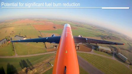 Airbus Albatross One: l'aereo con le ali pieghevoli contro le turbolenze