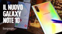 Abbiamo provato i nuovi Galaxy Note 10 e Note 10+ di Samsung