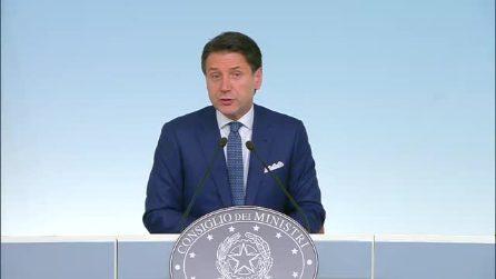 """Crisi di Governo, il Presidente del Consiglio: """"Tornerò in Parlamento"""""""