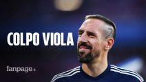 """Franck Ribery alla Fiorentina: """"Sono felice di essere qui"""". Le cifre dell'affare"""