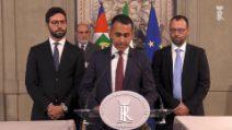 """Luigi Di Maio al Quirinale: """"No a urne adesso, il Paese ha bisogno di risposte"""""""