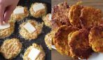 Veggie patties with cheese: simple, fast and so good
