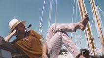 Renzo Rubino, da Modugno ai migranti: il diario di bordo marittimo di Porto Rubino