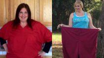 Perde 80 kg in un anno e mezzo. Il segreto di Vanessa è la sua forza di volontà