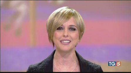 """""""Addio a Nadia Toffa, esempio di coraggio"""", il saluto del Tg5"""