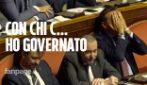 """Crisi di governo, al Senato Ministro Centinaio (Lega) contro il M5s: """"Con chi c.. abbiamo governato"""""""