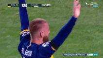 Calcio, Boca Juniors con De Rossi da impazzire: gol al debutto