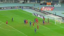 El Shaarawy, gol e assist all'esordio da titolare in Cina