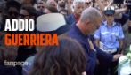 """Funerale Nadia Toffa, l'addio commosso delle Iene alla conduttrice: """"Addio guerriera!"""""""