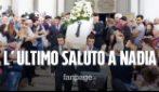 """Funerali di Nadia Toffa, la cravatta delle Iene sul feretro: """"Hai amato la verità"""""""