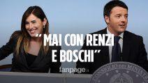 """Crisi di governo, il M5S: """"Mai insieme a Matteo Renzi e Maria Elena Boschi"""""""
