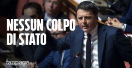 """Renzi contro Salvini: """"Avete fatto un governo col 17%, qui non è il Papeete"""""""