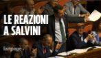 """Salvini ai 5 Stelle: """"Taglio parlamentari e manovra insieme"""". Di Maio ride: """"Non ci posso credere"""""""