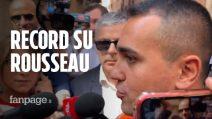 """Voto su Rousseau, Di Maio: """"Battuto il record mondiale di votazioni, un successo"""""""