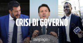Il riassunto della crisi di governo in 240 secondi: dal discorso di Salvini al possibile asse M5s-PD