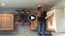 She's tired of her old kitchen: Look at the transformation
