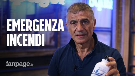 """Emergenza incendi, Pecoraro Scanio: """"Serve forza di intervento internazionale come i Caschi Verdi"""""""