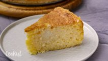 Creamy rice pudding cake: ready with just a few ingredients!