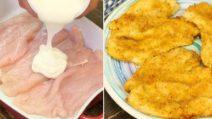 Pollo allo yogurt croccante al forno: il segreto per ottenerlo morbido e saporito
