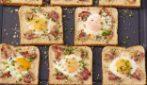 Toast croccanti con uovo: uno snack salato che vi conquisterà al primo assaggio!