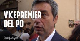 """Andrea Orlando: """"Non c'è problema Di Maio, ma con premier del M5s è giusto che vice sia del Pd"""""""
