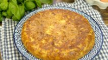 Potato and onion omelette: easy, quick and delicious!