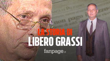 La storia di Libero Grassi, ucciso dalla mafia per essersi rifiutato di pagare il pizzo