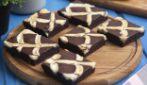 Torta al cioccolato e crema pasticcera: come preparare dei quadrotti facili e golosi!